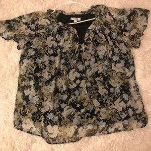 Good condition DressBarn Boho Flower blouse/Tunic